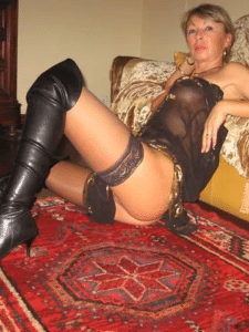 Denise, soumise de 62 ans